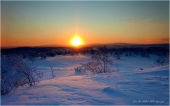 Sluten av Januar viser sola seg igjen