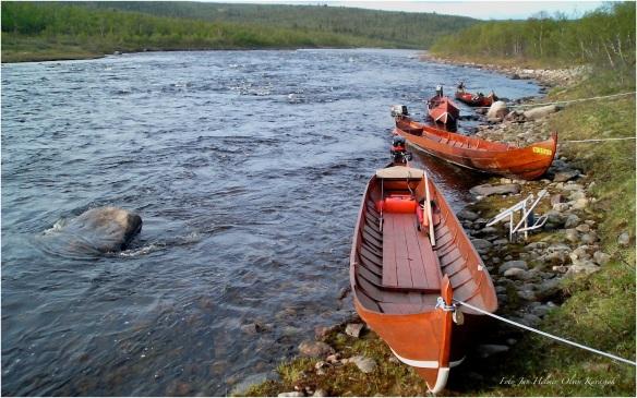Transport med elvebåt