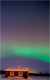 Northern Lights on Ravnastua