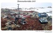 Filming med hexacopteret på Ifjordfjellet