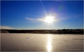 Isen legger seg på Karasjohka
