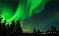 Nordlyset over Karasjok. Dette er et av over 1000 bilder i denne Time-Lapse serien. Bildene settes sammen til en film.