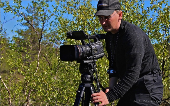 Filmer elven Karasjohka. Filmer med Canon XF305